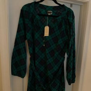 Mud pie - Plaid dress - Size L